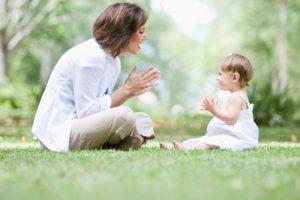 Первая стадия: от рождения до двухлетнего возраста