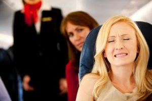 Как называется боязнь человека летать на самолете?