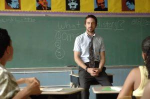 Влюбилась в школьного учителя