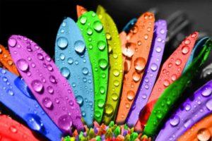 Краткая история символики цвета