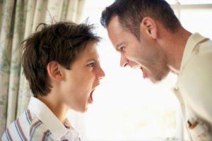 Споры между родителями и детьми
