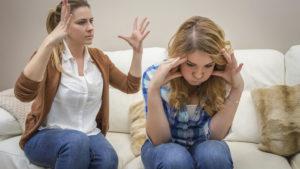 Столкновение интересов матери и взрослой дочери