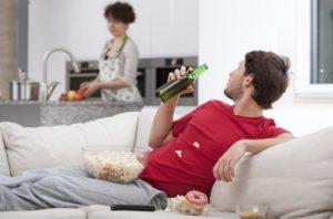 В алкогольной семье: пример