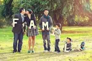 Методы определения типа современного семейства