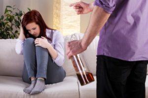 У мужа алкогольная зависимость
