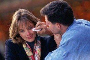 Как успокоить расстроенную жену?