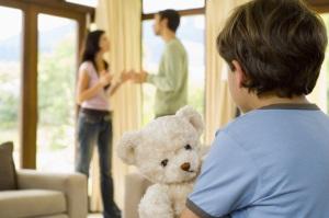 Развод с мужем, если есть дети