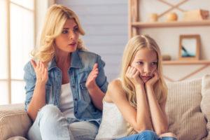 Взаимоотношения со взрослой дочерью