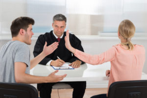 Что делать, если жена уже подала документы в суд?