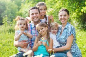 Психология многодетных семей
