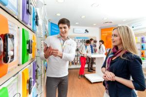 Работа с потенциальными покупателями