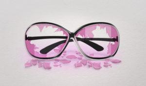 Причина: разбились розовые очки