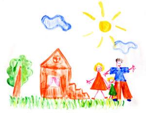 Что чаще всего рисуют дети и почему: психология и причины