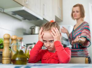 Обида на маму и папу: психология и причины