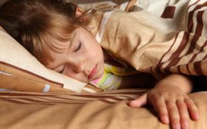 Отход ко сну в 5-9 лет