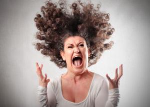 Гнев у женщин