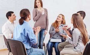 Методы лечения: групповая терапия