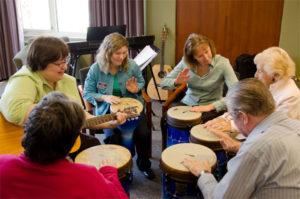 Как проводят музыкальные упражнения?