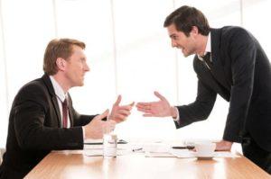 Приемы воздействия на собеседника в споре