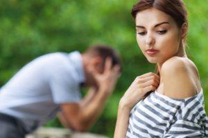 Что делать парню, если поругался с девушкой?