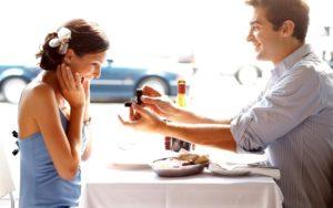 Предложение в ресторане
